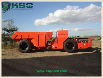 Hydropower Tunneling Low Profile Dump Truck For Medium Size Rock Excavation