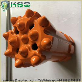 Inserts T45 Thread Top Hammer Retractable Drill Bit Parabolic Or Hemispherical