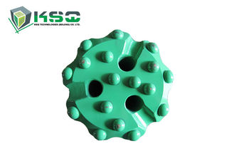 Middle - High Pressure DTH Drill Bits Stone Drilling Bits 3 Hole