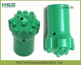 Dome Reaming Drill Bit T51 152mm Spherical / Ballistic 10.6kg For Drilling Tunneling