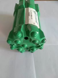T51 Mining Retractable Drill Bit 4 Holes Threaded Carbide Drill Bits Green Color