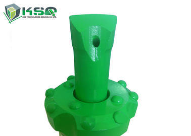 Green Color Forging Reaming Drill Bit R25 R28 R32 Hard Rock Tungsten Carbide
