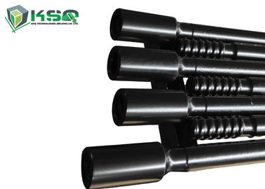 Black Color Threaded Extension Rod For Long Hole Drifting And Tunneling SGS