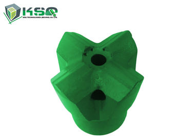 H25 cross / button hard Rock Drilling Tools small hole drilling High Manganese Steel Material