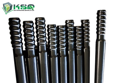 Threaded drill rod Extension Top Hammer Drilling Rod  for mining/ Tunnel drilling