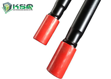 Round / Hex MF Extension Threaded Drill Rod T38 1220mm For Quarrying Tunneling Blasting