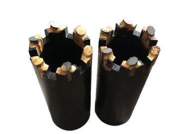 T2 Forging PDC Drill Bit / Rock Drill Bits For Mineral Exploration Industry