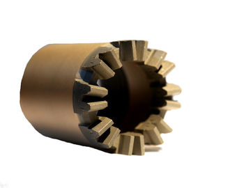 NQ - 75mm Diamond Tip Core Bit Gear Type For Dense Formations Reaming Shells