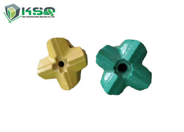 R32 64mmThread Cross Metal Drill Bit Tungsten Carbide Rock Drill Bits X Type For Bench Drilling