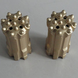 Tungsten Carbide Spherical Retractable Drill Bit R32 For Tunneling