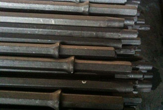 11 Degrees Taper Hex 22 Integral Drill Rod , Shank 22 mm x 108 mm for Mining Drilling