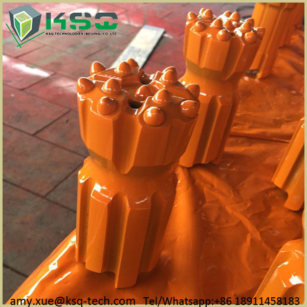 T38 Retractable Drill Bit Normal Retrac Body Ballistic Drop Center