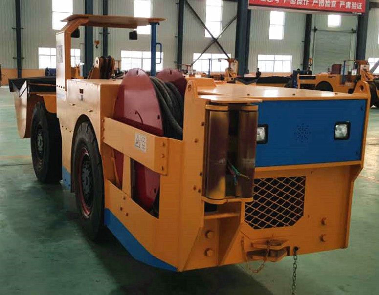 0.6 M3/ 0.75 Yard Scraper Load Haul Dump Machine For Underground Mining Working
