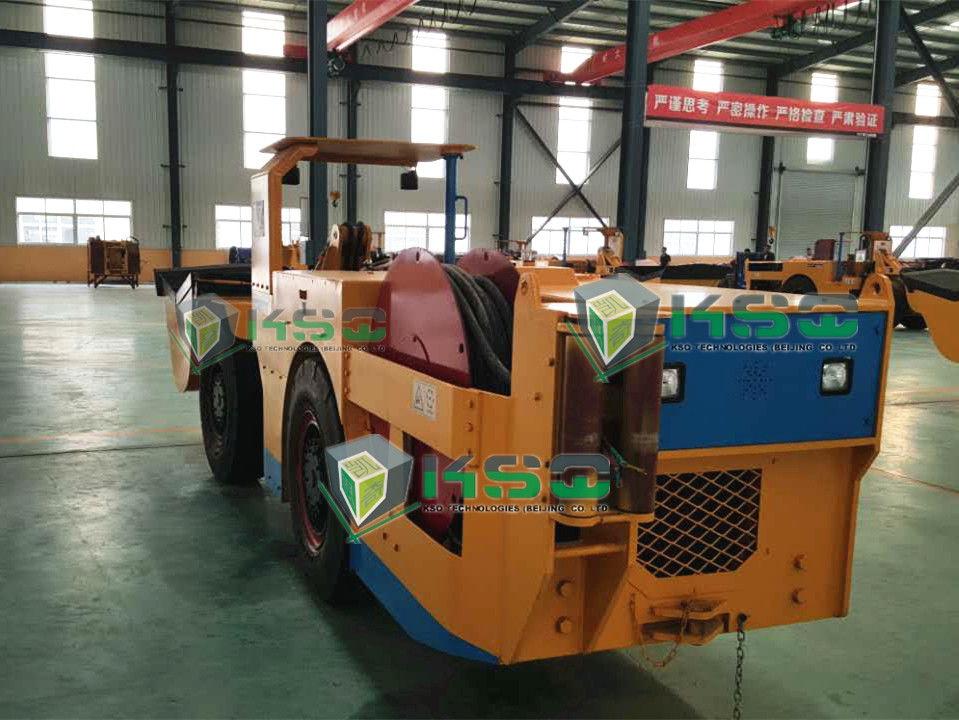 Sandvik Orange Load Haul Dump Machine Utilized As Multi - Role Equipment