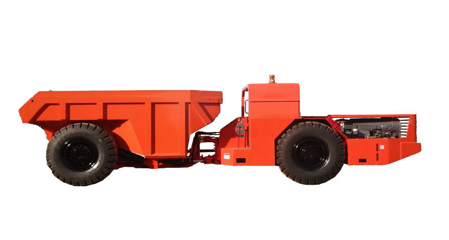 Hydropower Tunneling Underground Dump Truck For Medium Size Rock Excavation