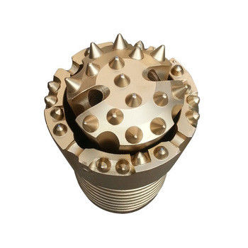Double Casing Rotary Rock Hammer Drill Bits DTH Hammer Type Drilling