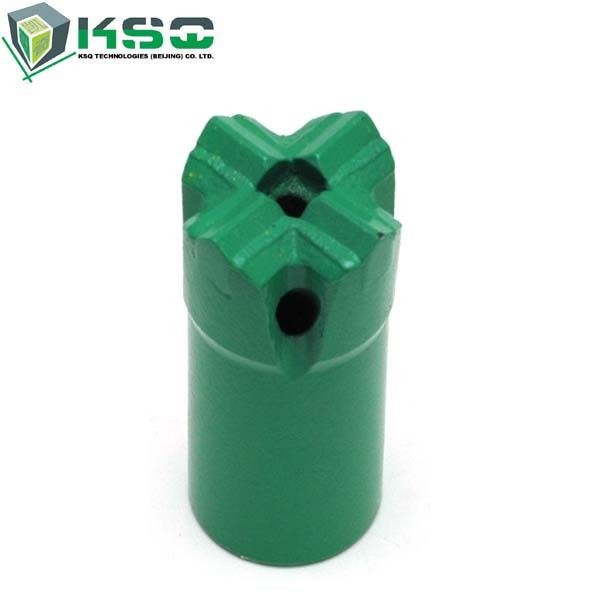 T38 Mining Threaded Cross Bits CNC Milling Drill Bits 3 Inch 89mm