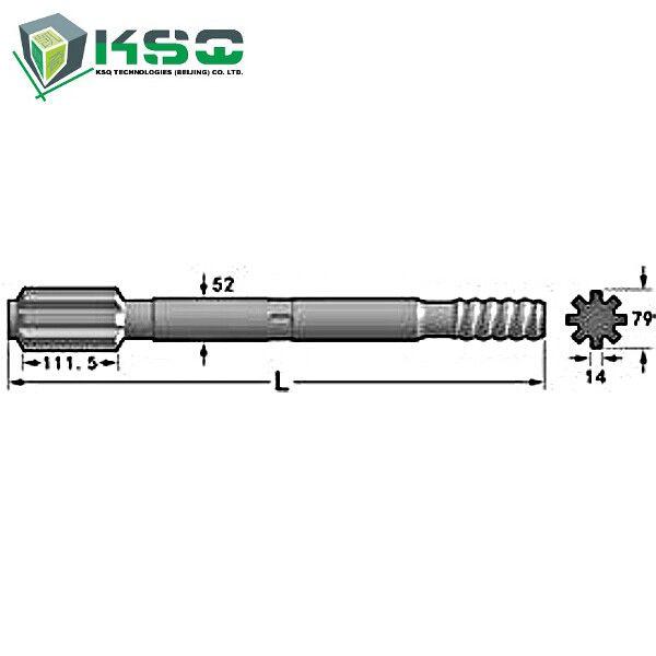 T51 Thread Drill Shank Adapter Sandvik Drilling Tools With