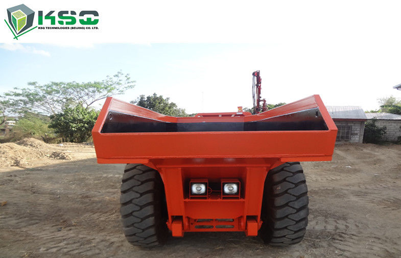 Professional 15 ton Low Profile Dump Truck Tunneling