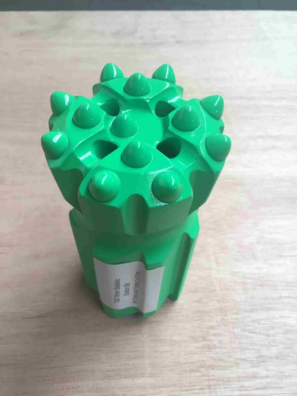 Soft Rock Drilling T38 76mm Ballistic Retractable Drill Bit With Fast Penetration