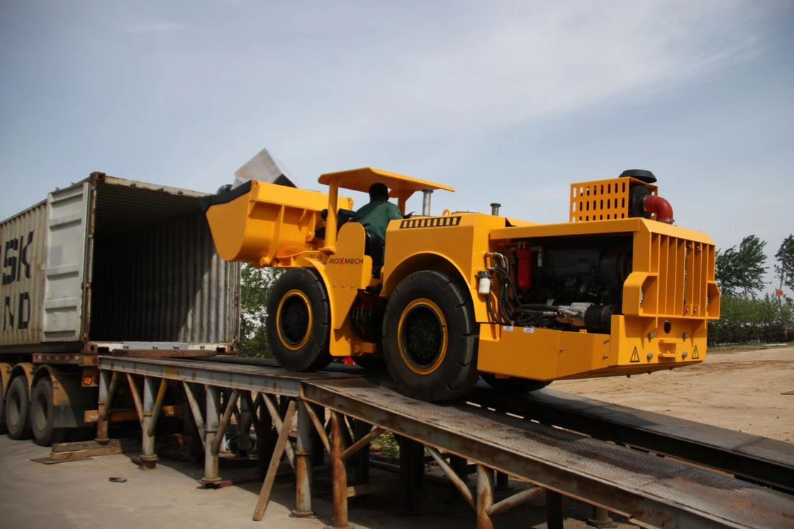 4 CBM Volume Load Haul Dump Truck Scooptram Underground Mining Machinery