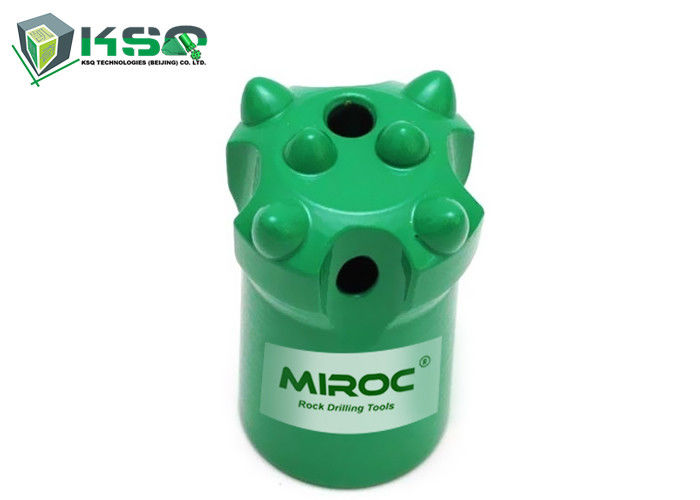 MIROC drilling Green Taper Button Bit 7D-34mm with high quality raw materials for Hard rock