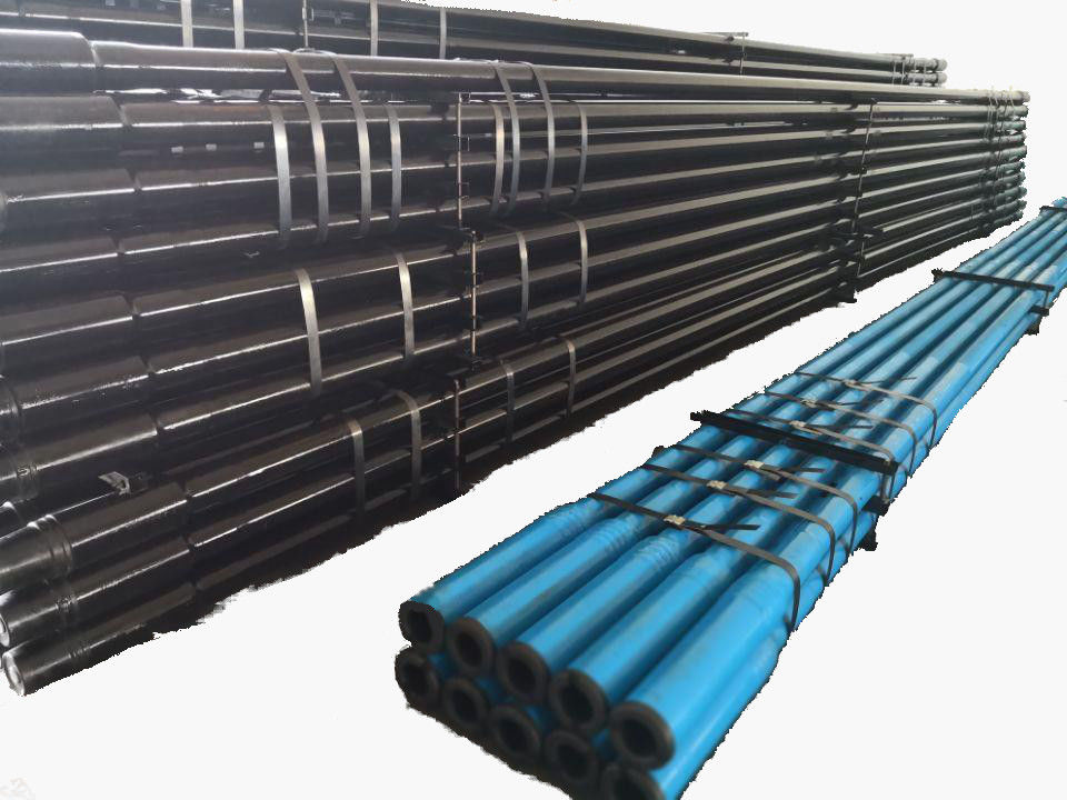Down The Hole Drilling Tools For Water Well Drilling DTH Drill Pipes API Regular Thread / F Thread