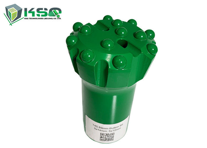 T45 89mm Rock Drilling Tools Retract Thread Button Rock Drill Bits