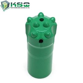 Rock Drilling Button Drill Bit Tapered 7°11°12° Tungsten Carbide