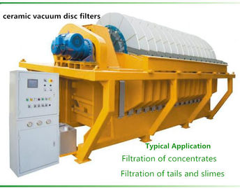 China Durable vacuum disc filter , vacuum ceramic filter Filtration of concentrates factory