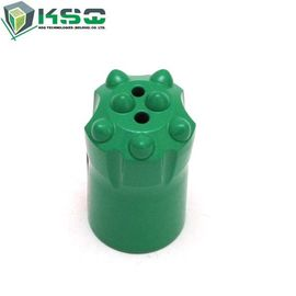 Tungsten carbide tapered drill bits 7 degree 11 degree 12 degree for hex22 rod