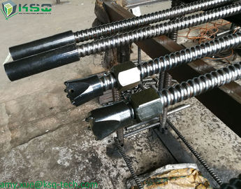 Alloy R38N Steel Anchor Bolts Self Drilling Steel Anchor Bolts