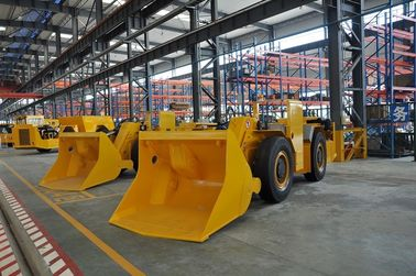 China Mining Load Haul Dump Machine , 4 Wheel Lhd Loader For Underground Project factory
