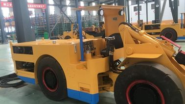 China 1 Cubic Meter  Electric LHD Load Haul Dump Machine For Underground Mining with Cable CE / ISO9001 factory
