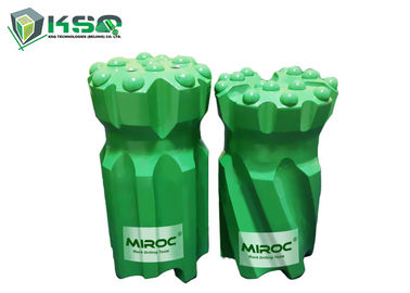 China R38 Threaded Drill Bits 89mm Retrac Body For Drifting / Tunneling Hardened Steel factory