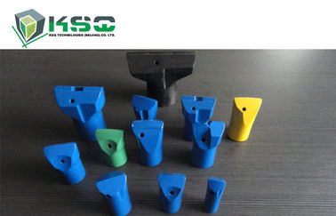 China Tungsten Carbide Drill Bit Tapered Hardened Steel Drill Bits Blue Green factory
