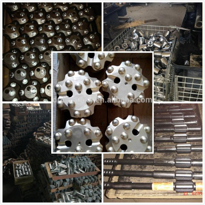 Good Quality 152mm 155mm 159mm 165mm 172mm 178mm 190mm 203mm QL60 DHD360 SD6M60 Shank Down The Hole Hammer Drill Bits, DTH Bit