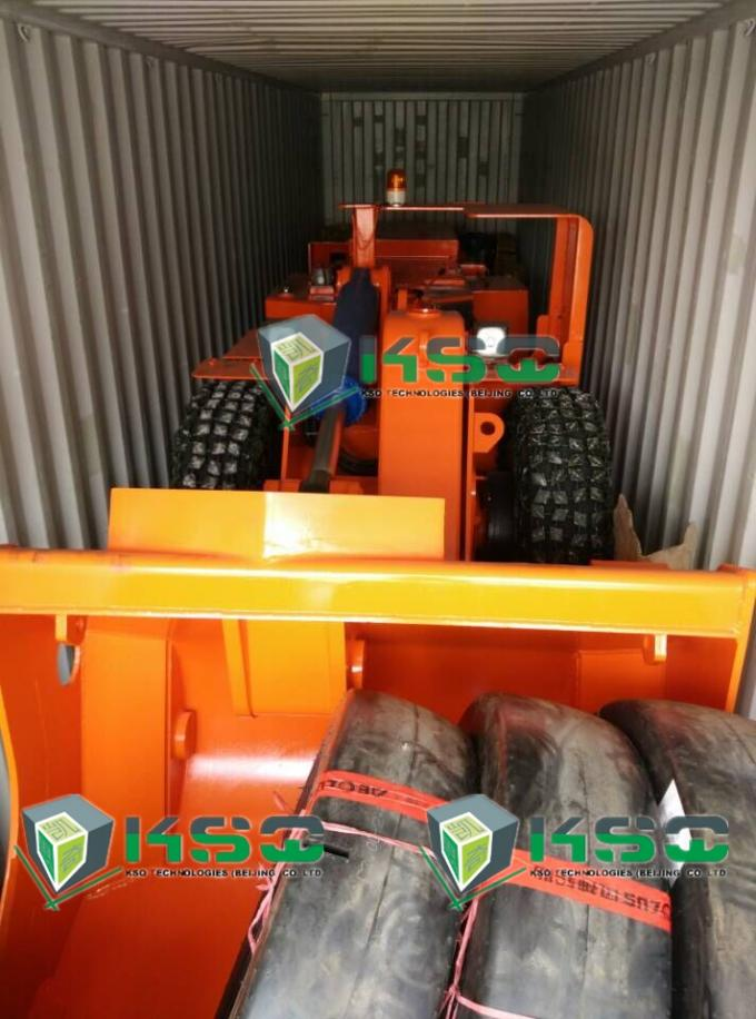 Articulated Load Haul Scooptram Machine underground lhd machines