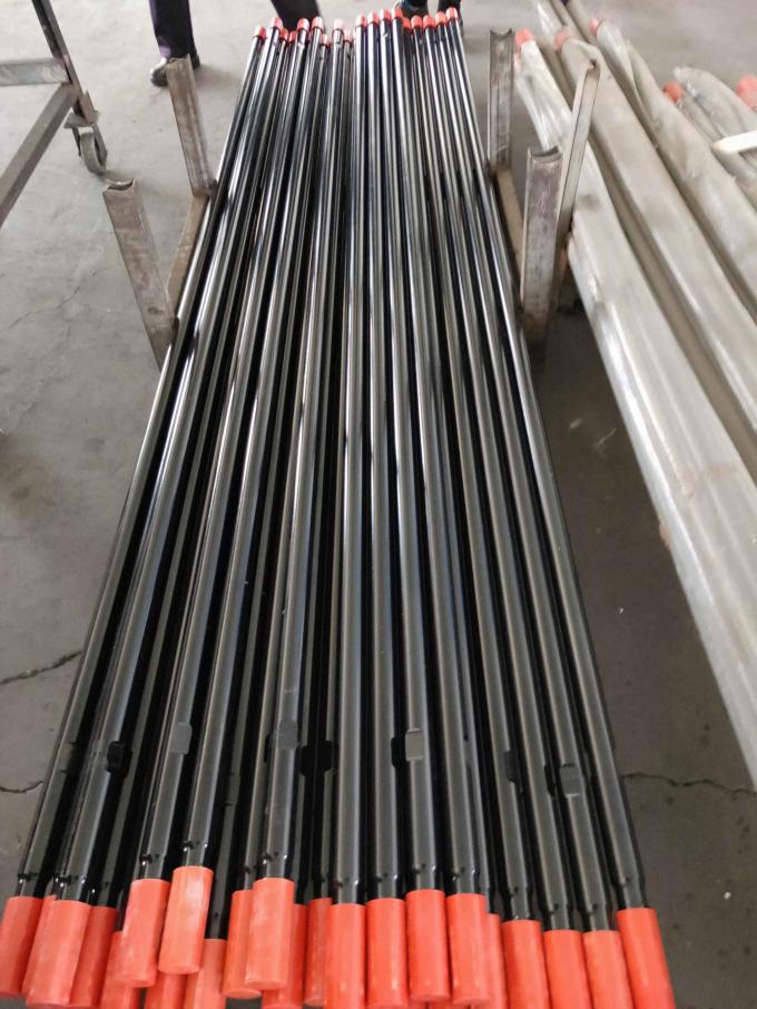 T38 Threaded Extension Rod Round 4 Feet 1220mm With Integrated Carburizing