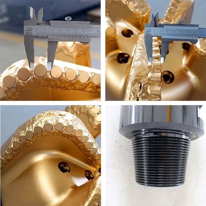 "5-7/8"" × 7"" × 4-½ "" PDC Centre Bit Type Hole Enlarger Tricone Drill Bit For Hard Formation"