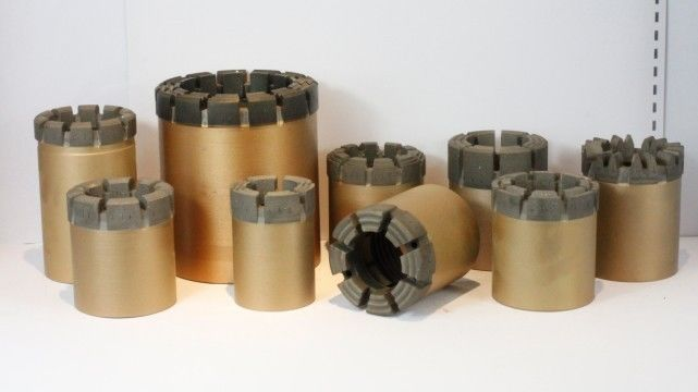 PQ HQ NQ Surface Diamond Core PDC Drill Bit For Geological Exploration Drilling