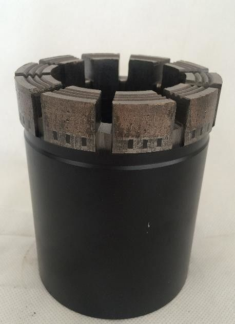 Geological Drilling Q3 Diamond Core PDC Drill Bit For Triple Tube Core Barrels