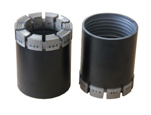Impregnated Diamond Core PDC Drill Bit For Mineral Exploration / Core Sampler Drilling