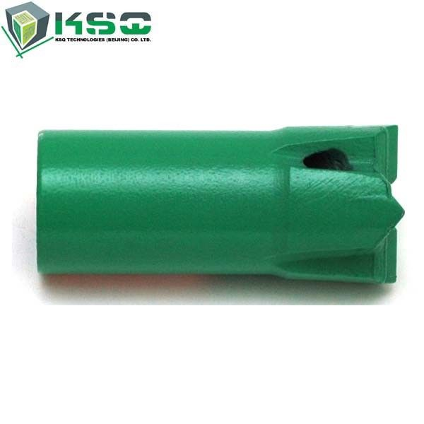 R32 - 43mm Threaded Cross Bits Rock Drilling Bit For Underground Coal Mining