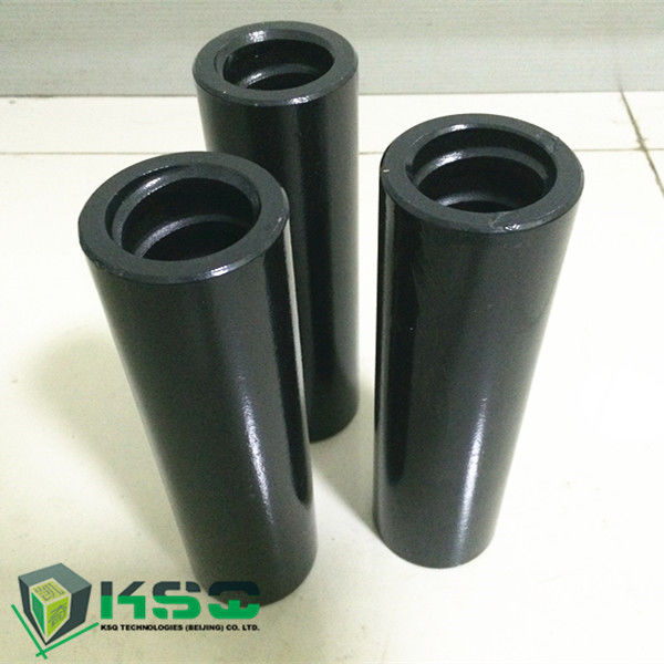 Cross Drill Coupling Thread T38 / T45 for Mining Equipment Parts 1