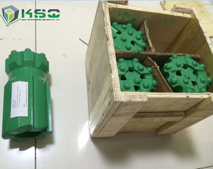 Quarrying Industry Tungsten Carbide Drill Bit / Dia 26-80mm Mining Drilling Bits